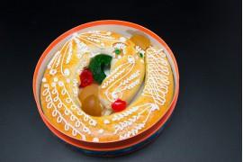 Anguila de mazapán