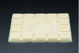 Tableta de chocolate blanco 100gr