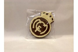 Escudo Real Madrid chocolate