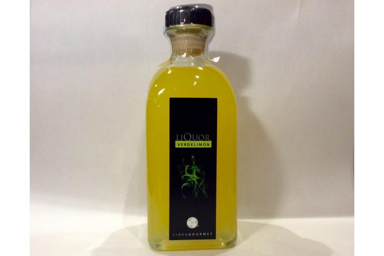 Licor de verde limón