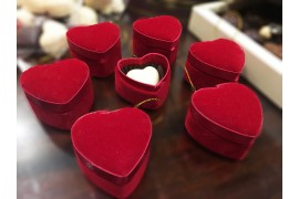 Caja bombones corazón pequeño