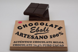 Tableta chocolate negro 70% de cacao 1kg