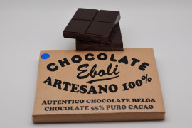 Tableta chocolate negro 55% de cacao 1kg