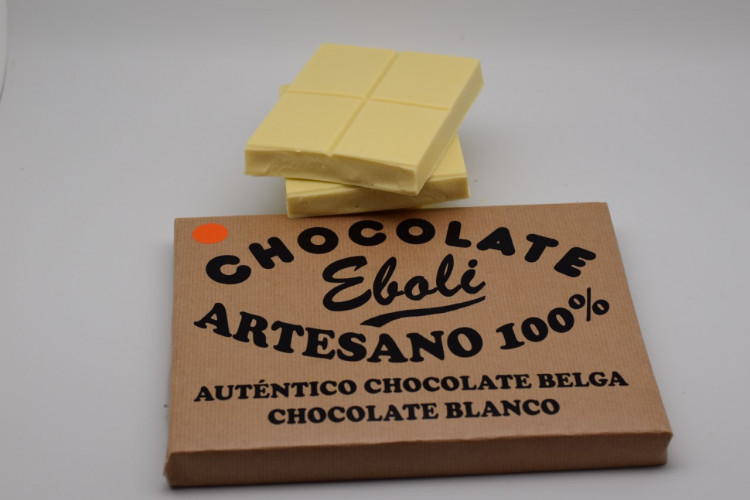 Tableta de 1kg chocolate blanco