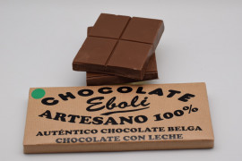 Tableta chocolate con leche 35% de cacao 500grs