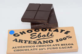 Tableta chocolate negro 55% de cacao 500grs