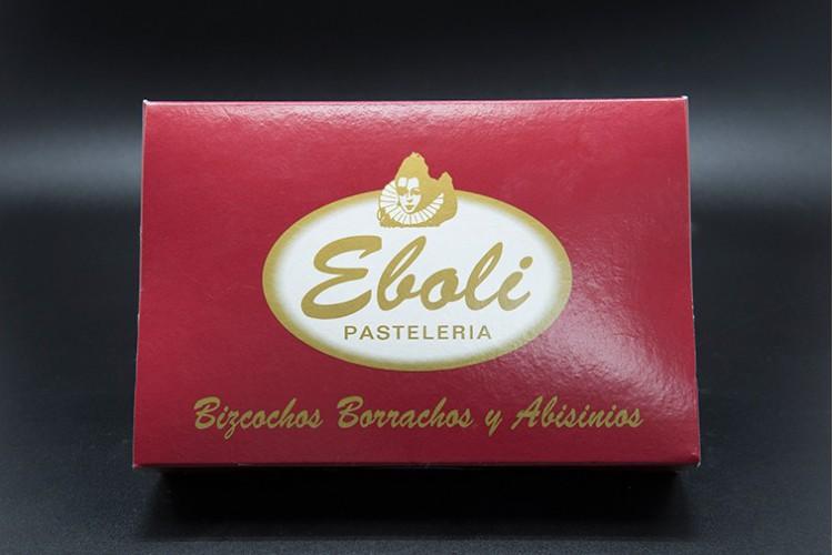 Bizcocho Borracho tradicional original de Pastelería Eboli