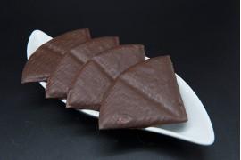 Barquillos triángulo chocolate