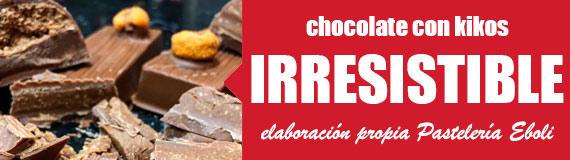 comprar chocolate con kikos en Pastelería Eboli